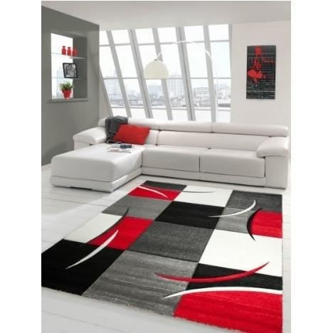 tapis design pour salon diavirgule rouge 120x170 achat vente tapis d 39 entr e black friday. Black Bedroom Furniture Sets. Home Design Ideas