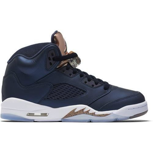 Basket NIKE AIR JORDAN 4 RETRO - Age - ADOLESCENT, Couleur - BLEU, Genre - MIXTE