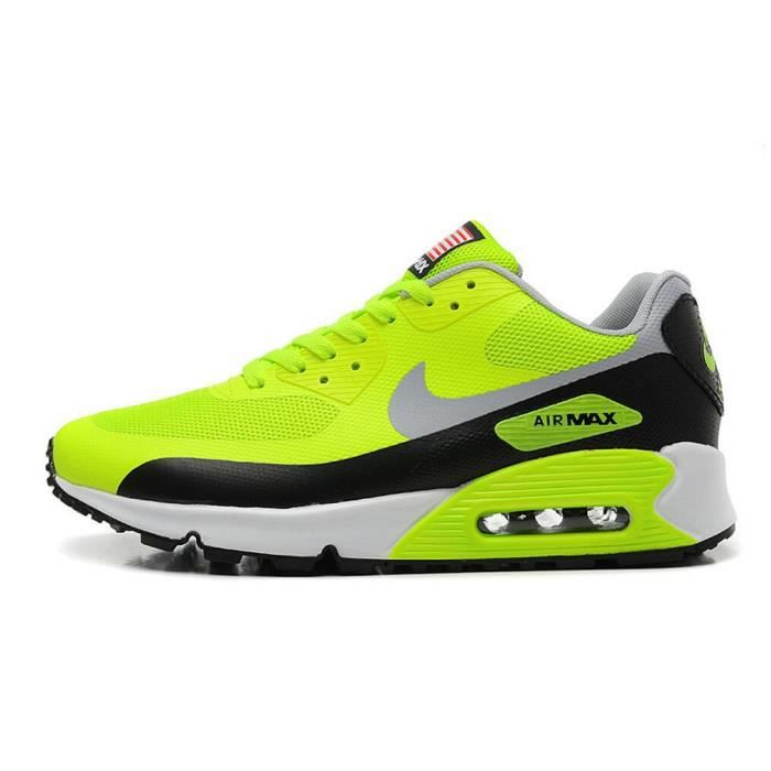 chaussure nike air max homme fluo