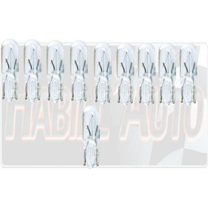 10 x 286 T5 couleur vert ampoules 12 V 1.2 W Tableau de Bord Instrument Panels Top Qualité