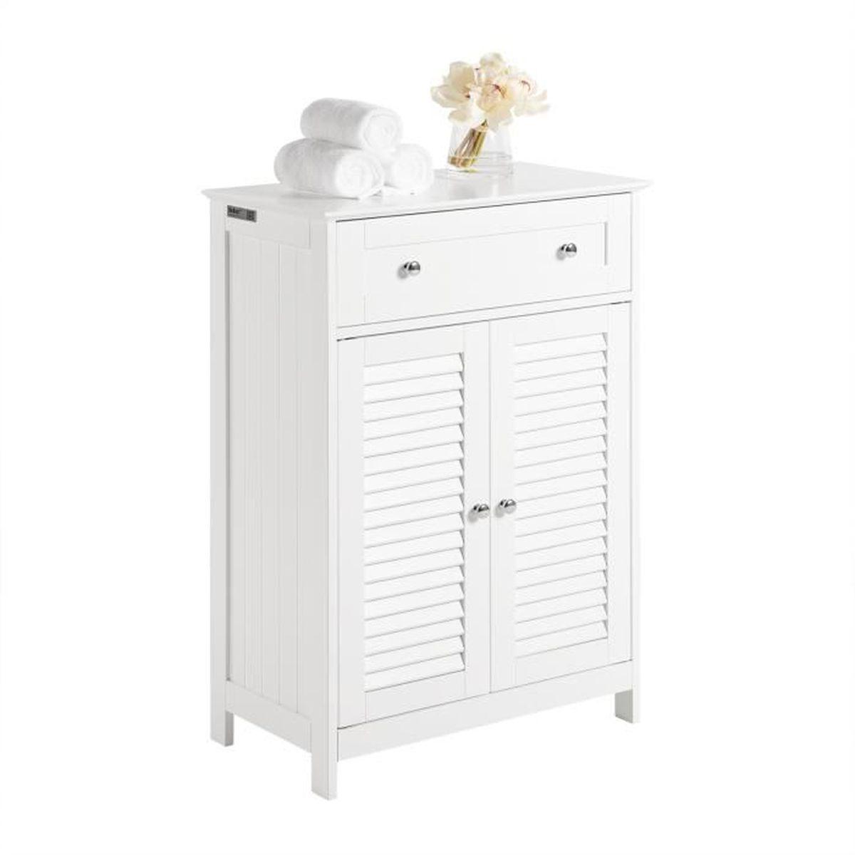 Meuble De Salle De Bain Osier meuble bas salle de bain avec tiroir