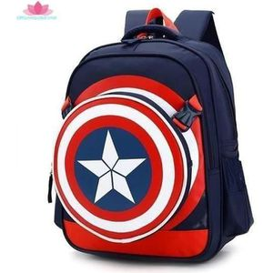 SAC À DOS Garçons Captain America Cartable enfants Sac à dos
