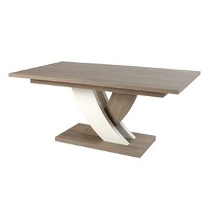 Table avec allonges integrees achat vente table avec for Taille table a manger