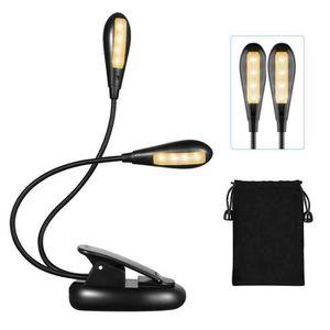 LAMPE A POSER Portable LED Lampe de Lecture, ChangM 2 * 4 Led La
