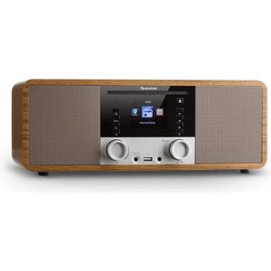 RADIO CD CASSETTE auna IR-190 Radio internet Bluetooth Lecteur CD Wi