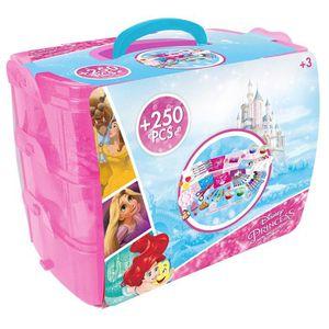 FEUTRES Coffret 250 pièces : Princesses Disney aille Uniqu