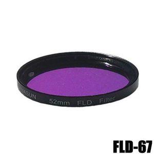 FILTRE PHOTO DynaSun Filtre lentille mince fluorescent FLD 67-m