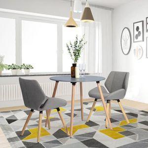 TABLE À MANGER SEULE Table à Manger Ronde - 2 à 4 Personnes - MDF - Str