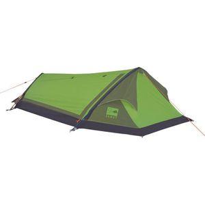 TENTE DE CAMPING JAMET Tente Himalaya - 2 Places - Vert et Gris