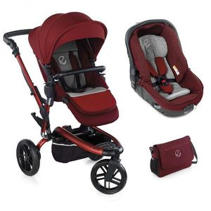 POUSSETTE  JANE Poussette Duo Trider Matrix light 2 - Rouge