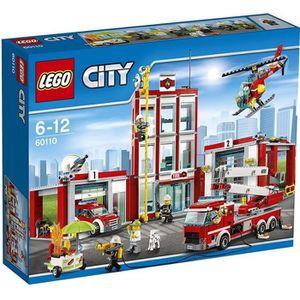 ASSEMBLAGE CONSTRUCTION LEGO - 60110 - City - Jeu de construction - La Cas