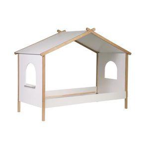 STRUCTURE DE LIT Miliboo - Lit cabane enfant design 90x190 BIRDY