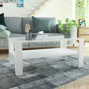 TABLE BASSE Table basse en aggloméré relevable stylescandinave