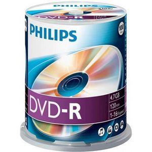 CD - DVD VIERGE DM4S6B00F 100 x DVD-R 4.7 GB ( 120 Min. ) 16x