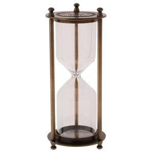 Retro Sablier Vide Cadre Metal Diy Horloge Sandglass Sable Changeable Jouet Decor Maison Bronze L Achat Vente Minuteur Sablier Retro Sablier Vide Cadre Cdiscount