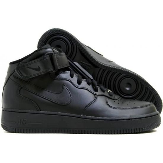 low priced e613a 225f8 Nike Air Force 1 Mid Femme Noir - Achat   Vente basket - Cdiscount