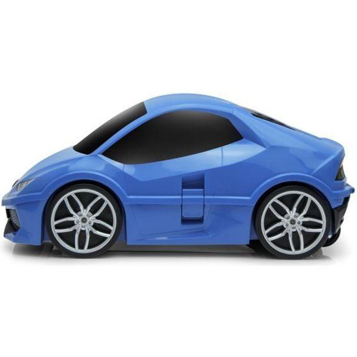 GoodVibes - Trolley / valise de voyage pour enfants Lamborghini - Bleu