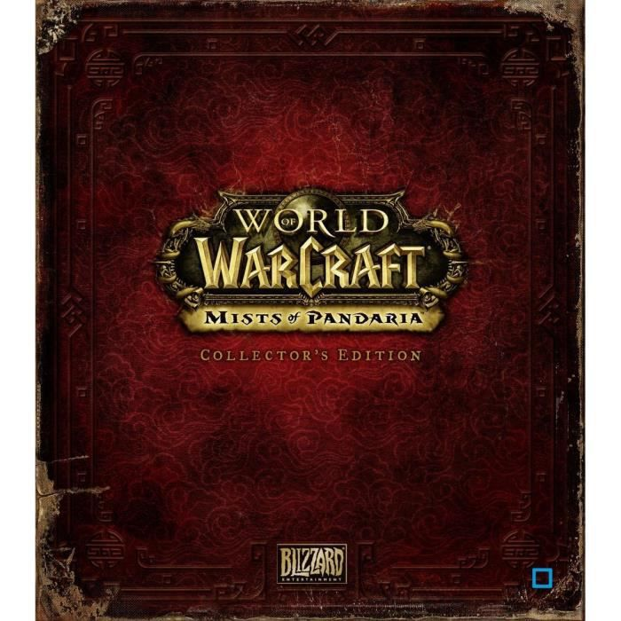 JEU PC WOW MISTS OF PANDARIA EDITION COLLECTOR / Jeu PC
