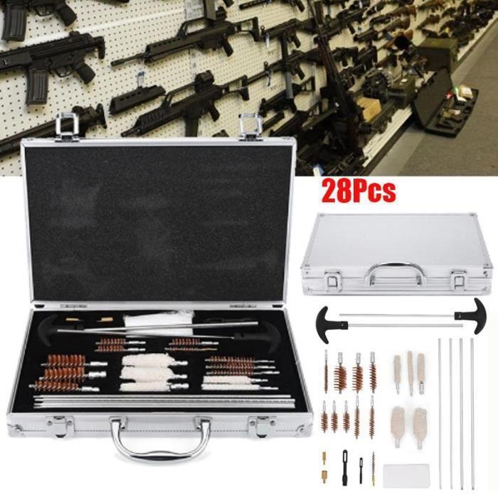 28pcs professionnel pistolet arme à feu pistolet pistolet nettoyage outils-JAD