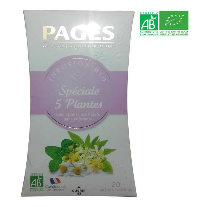 PAGES Infusion Speciales Plantes Bio
