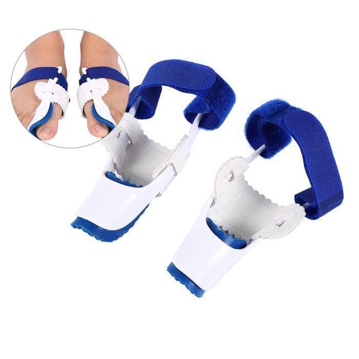 1 paire Hallux Valgus correcteur attelle Orthèse Redressement Protecteur Valgus Gros Orteil outil soin des pieds