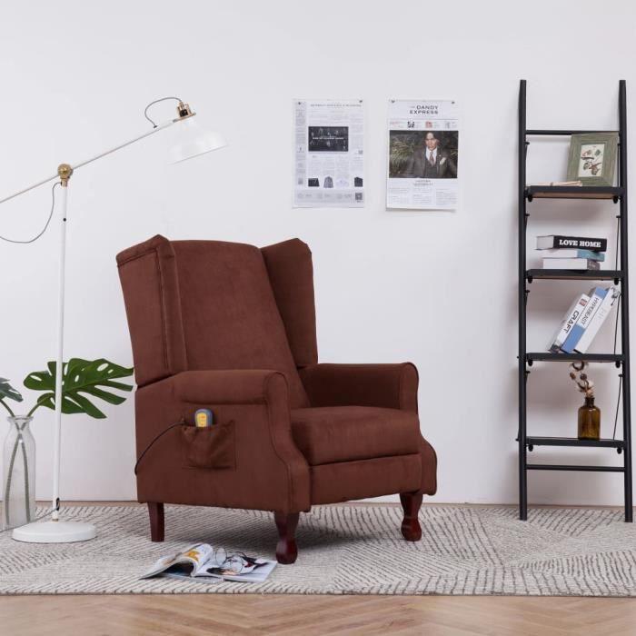 Mode - Fauteuil relax Fauteuil de massage scandinave confort Relaxation - 4 points 4 modes - Fauteuil TV Fauteuils électriques ☻9812