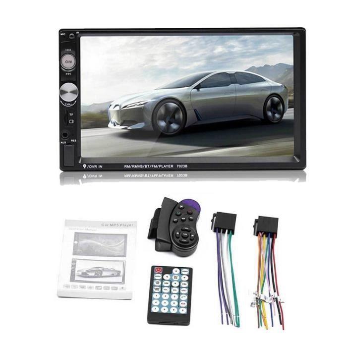 Lecteur multimédia voiture universel 2 din Android Autoradio stéréo 7- écran tactile Bluetooth MP5 - Type 7023B MP5 Only