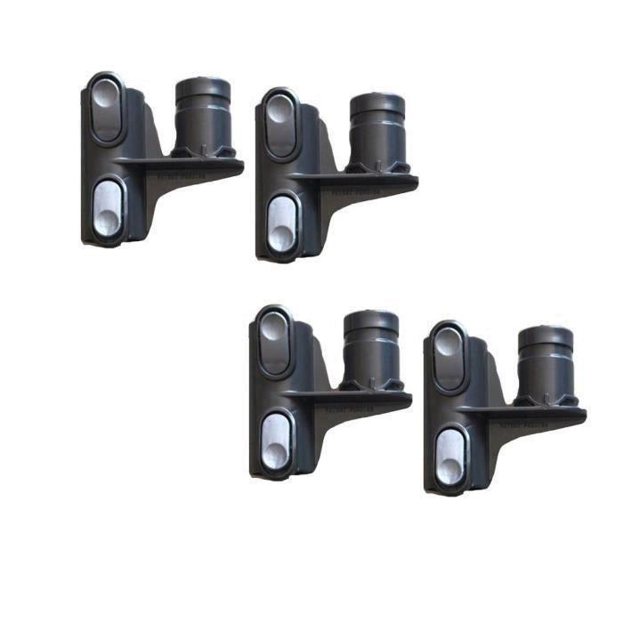 4 pcs Accessoires de tête de rangement pour aspirateur Dyson DC58 DC59 DC62 V6 DC35 DC45 la24776