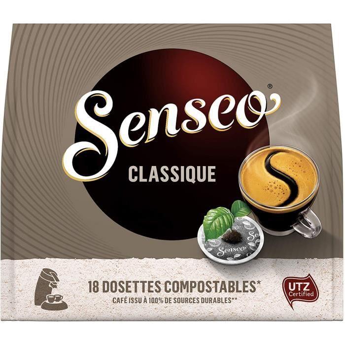 Senseo Café 180 Dosettes Classique (lot de 10 x 18)[208]