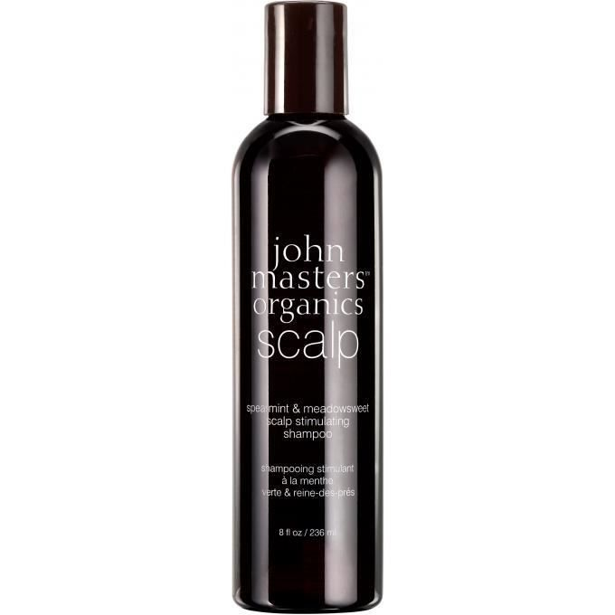 john masters organics shampoing menthe verte & reine des près purifiant - 236ml