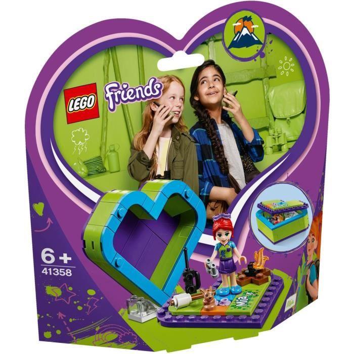 LEGO® Friends 41358 La boîte cœur de Mia - Jeu de construction
