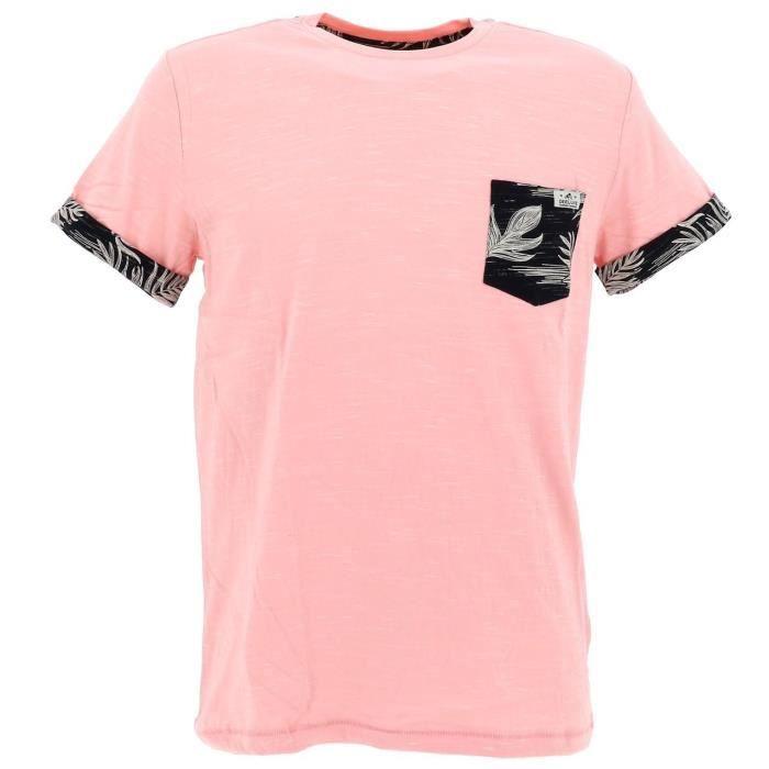 Tee shirt manches courtes Shamar malabar mc tee - Deeluxe