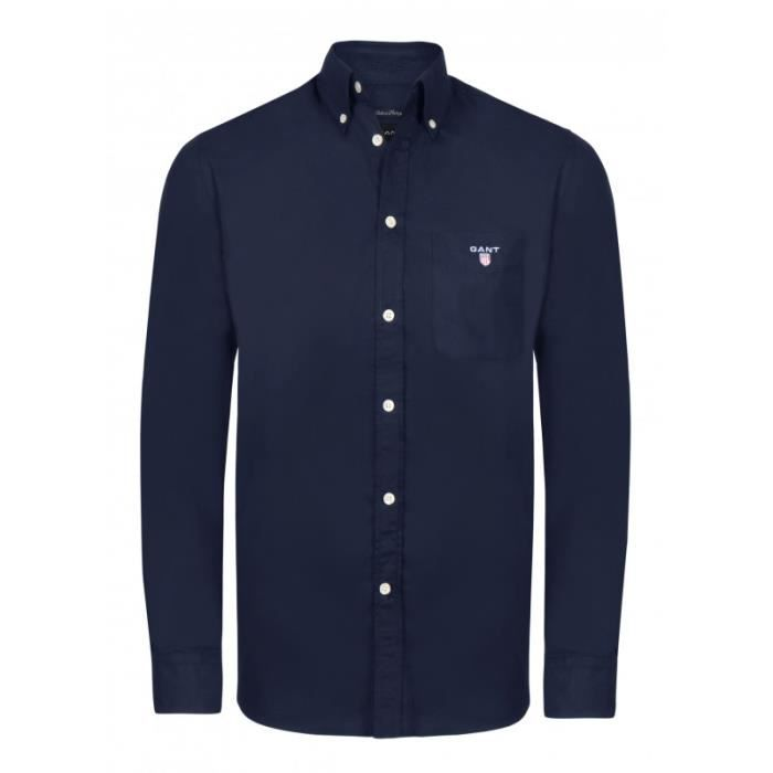 Gant Chemise Homme Bleu Marin