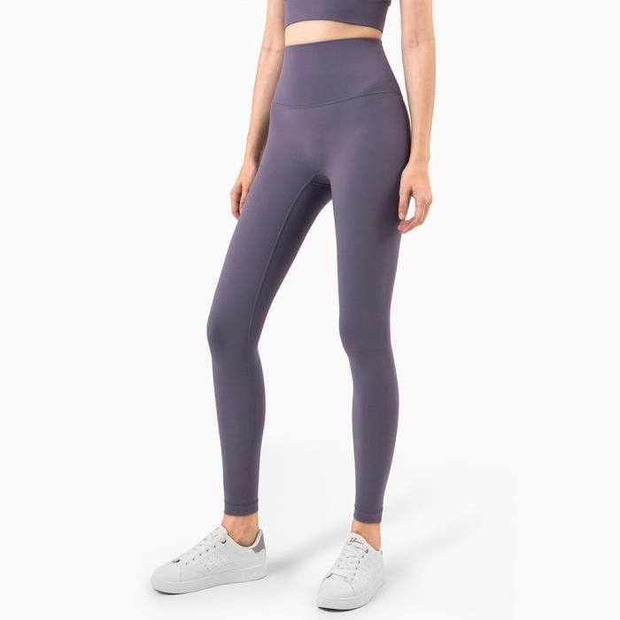 Textile Fitness - Danse,Vnazvnasi 2020 Yoga ensemble Leggings et hauts Fitness sport costumes vêtements de - Type purple quartz