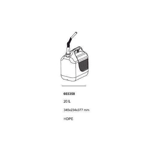 Tayg Oxid7 bidon à essence Reservekanister bidon neuf 20L/20 l - 4052A20