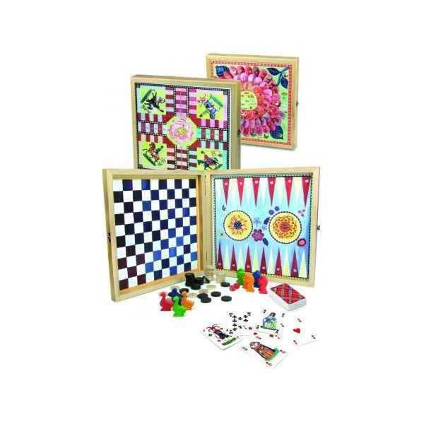 VILAC Ma jolie boite de jeux bucoliques par Nathalie Lété