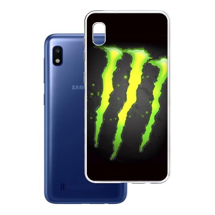 Coque Samsung Galaxy A20 - Monster Energy Logo Glo