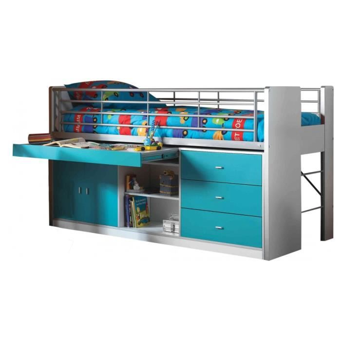lavabo pour baignoire lit enfant bureau rtractable laqu bleu turquoise with bureau rtractable. Black Bedroom Furniture Sets. Home Design Ideas