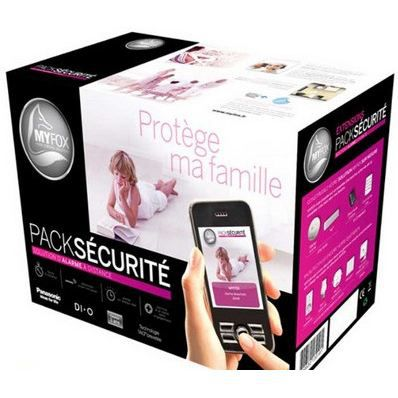 Pack myfox s curit achat vente kit alarme soldes for Alarme maison myfox