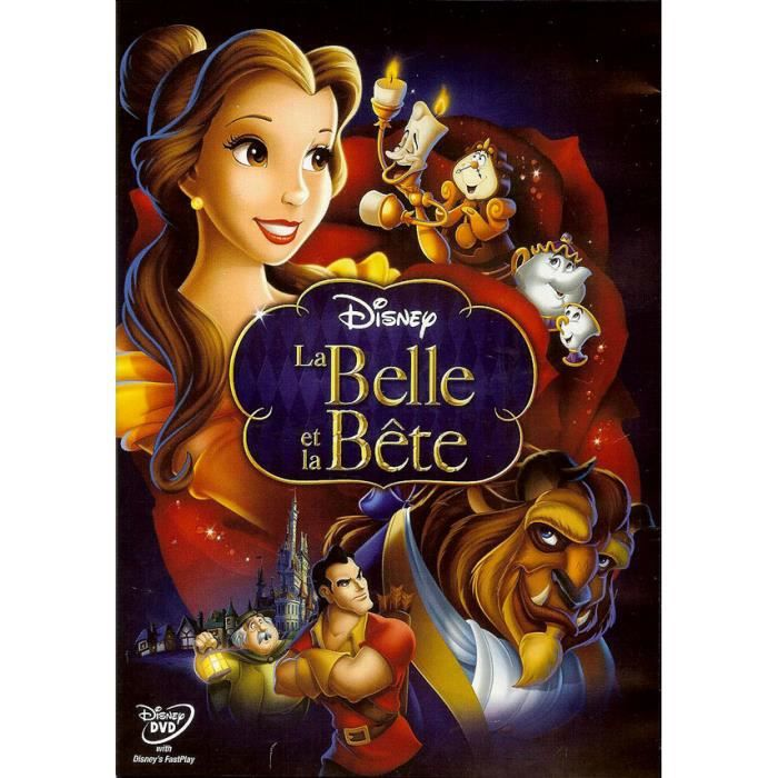 dvd la belle et la bete disney en dvd film pas cher. Black Bedroom Furniture Sets. Home Design Ideas