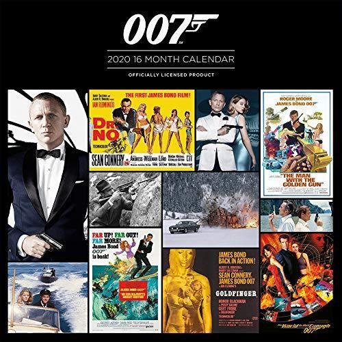 James Bond 007 Calendrier 2020   Achat / Vente calendrier