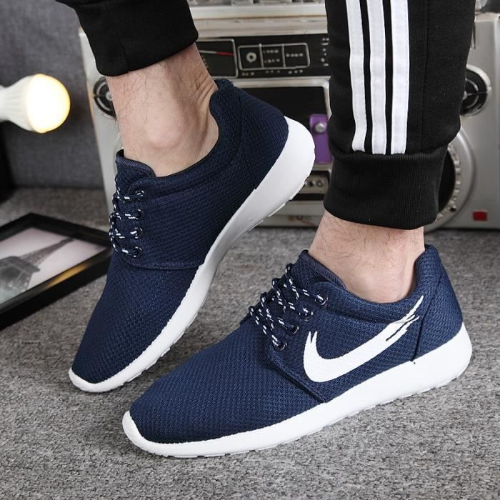chaussure homme chaussures mode casual 2016 t bleu achat vente basket cdiscount. Black Bedroom Furniture Sets. Home Design Ideas