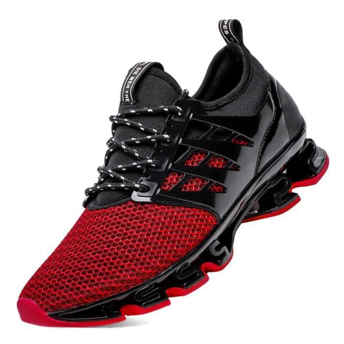 Unitysow Chaussures de Course Homme Baskets Coussin dair Chaussures de Sport Outdoor L/ég/ère Chaussures de Marche Running Sneakers 39-45EU