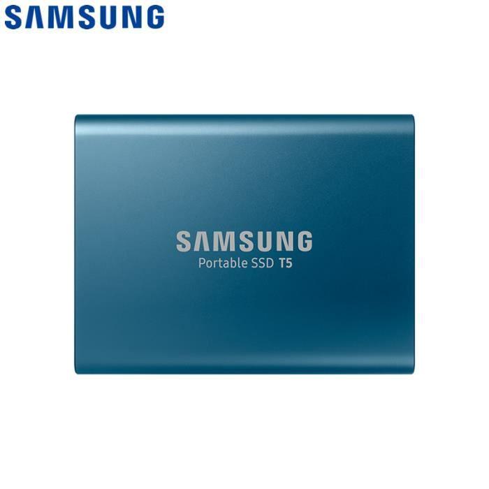 CLÉ USB Samsung T5 Disque Dur SSD Portable 500 Go avec USB