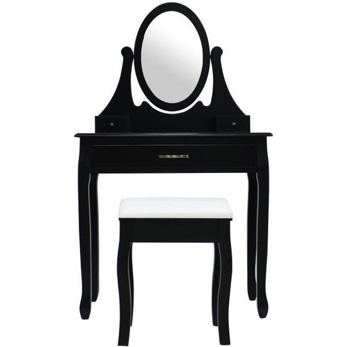 Table de maquillage achat vente table de maquillage for Coiffeuse avec 3 miroirs