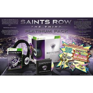 JEU XBOX 360 SAINTS ROW THE THIRD EDITION GENKI / Jeu X360
