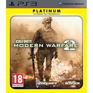 JEU PS3 Call Of Duty Modern Warfare 2 Platinium Jeu PS3