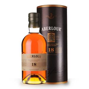 WHISKY BOURBON SCOTCH Aberlour 18 ans 70cl - Canister - Whisky Single Ma