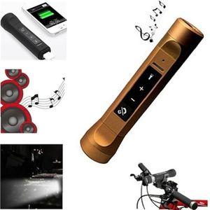 ENCEINTE NOMADE 3 en 1 Cool Bluetooth sans fil LED Radio FM Son Ha