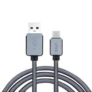 Accessoires câbles Câble USB  1,5M USB USB-C 3.1 Type C Homme charge